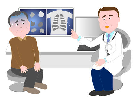 Patients worried about receiving an explanation of the disease from a doctor.