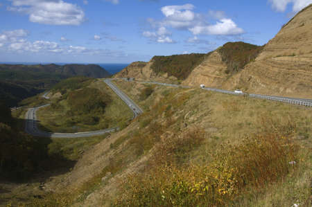 mountain road on the island of Sakhalin Stock Photo - 15863233