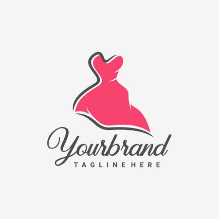 Clothing & Fashion Logo design vector template.