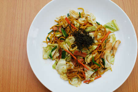 yakisoba japaness food photo