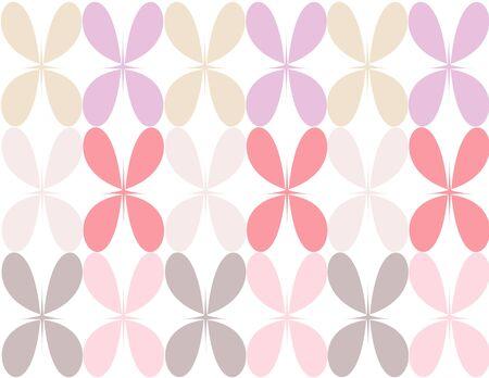 pedal: Pastel colored flower pedal illustration background Illustration