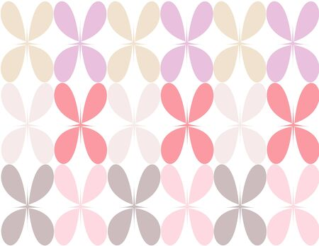 pastel colored: Pastel colored flower pedal illustration background Illustration