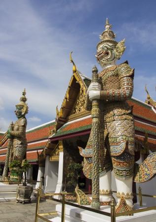 gaurd: Giant as the gaurd of the Emerald Buddha Temple