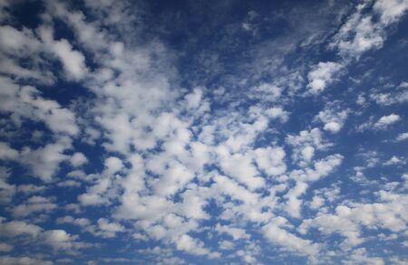 altocumulus: Altocumulus, a type of middle cloud Stock Photo