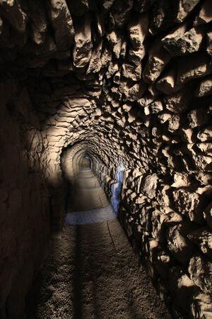 crusaders: Tunnel at Kerak Castle, Jordan