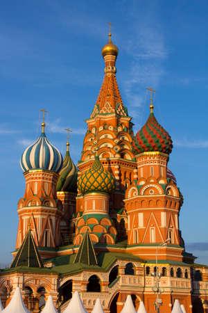 red square moscow: Catedral de San Basilio en la Plaza Roja, Mosc�, Rusia Foto de archivo