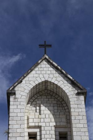 sapa: Sapa church in the center of Sapa city