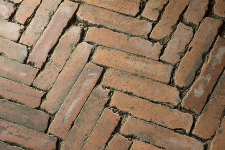 Patroon van vloerblok van baksteen