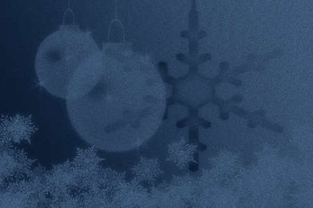 colds: snowflakes and christmas lights