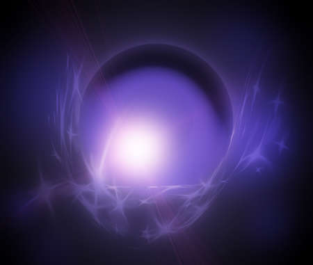 Magic Ball  Illustration