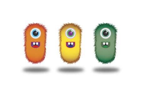 Cute Mascots Stock Vector - 17593533
