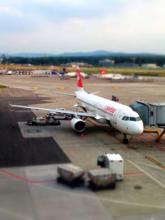 Swiss Airlines Stock Photo