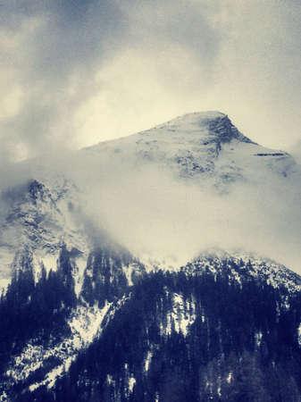 Bergn Winter  Stock Photo