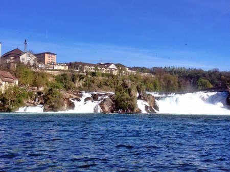 Rhine waterfall Switzerland