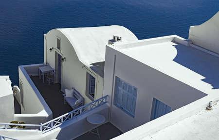 architecture: Architecture of Santorini Greece Stock Photo