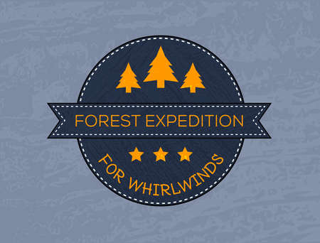 Illustration of outdoor adventure and expedition logo