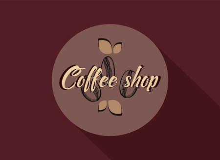 Coffee Shop Icon. Vector illustration. Illustration