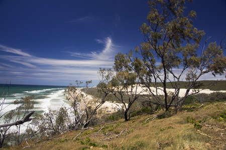 fraser: Ocean view from Fraser Island, Australia