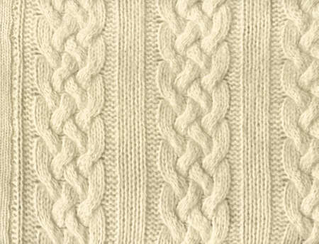 fleece fabric: Close-up of a piece of knit fabric