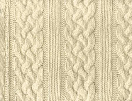 maglioni: Primo piano di un pezzo di tessuto maglia  Archivio Fotografico