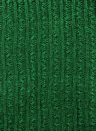 Close-up of a piece of knit fabric photo