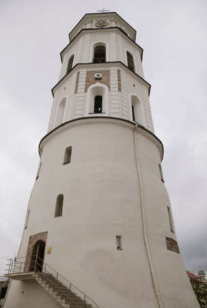 Bell tower Of Cathedral Of St. Stanislaus And St. Vladislav, Vilnius