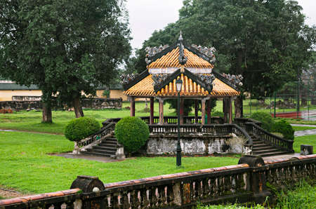 Imperial Palace in Hue, Vietnam