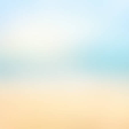 Abstract blurred summer beach texture background - Trendy business website template with copy space