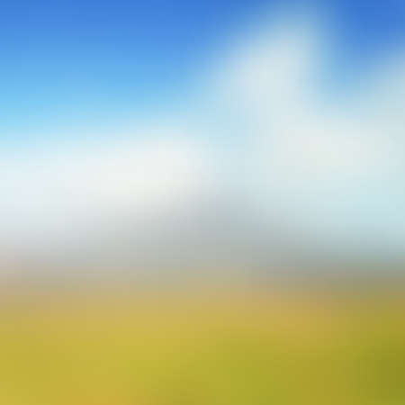 Abstract blurred landscape background - Trendy business website template with copy space Ilustrace