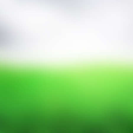 Abstract blurred green landscape background - Trendy business website template with copy space Ilustrace