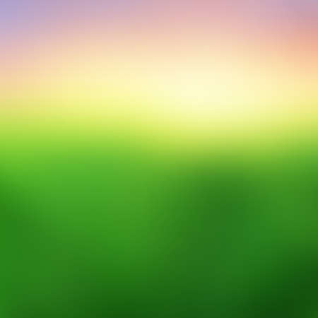 Abstract blurred landscape texture background - Trendy business website template with copy space Ilustrace