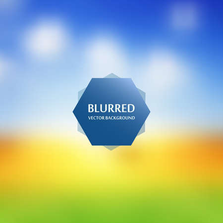 wallpape: Blurred abstract backgrounds vector. Blurred Sunset, sunrise landscape wallpape