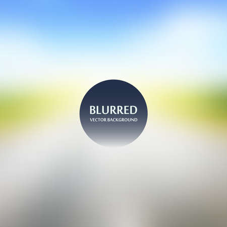Blurred abstract backgrounds vector. Blurred Sunset, sunrise landscape wallpape
