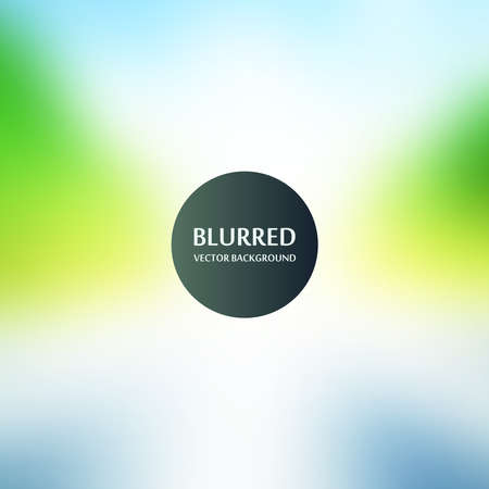 Blurred abstract backgrounds vector. Blurred Sunset, sunrise landscape wallpaper Stock Illustratie