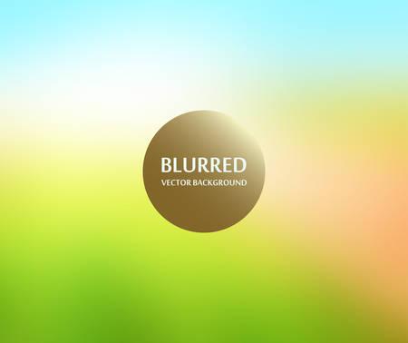 soft blurred abstract background set collection in subtle warm colors,landscape Ilustração