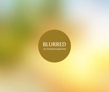 Abstract Background background for web design- Blurred Image - Autumn sunset Illustration