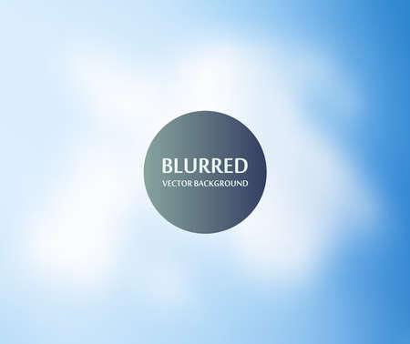 cielo azul: Cielo azul desenfoque de fondo abstracto para el diseño web, colorido, borrosa, textura, papel pintado, ilustración Vectores