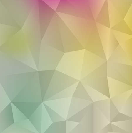 Polygonal Mosaic Background, Creative Business Design Templates,retro style Illustration