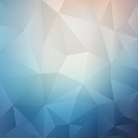 Polygonal Mosaic Background, Creative Business Design Templates,retro style Stock Illustratie