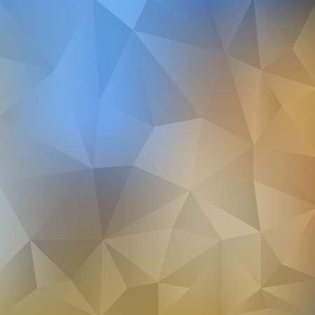 Polygonal Mosaic Background, Creative Business Design Templates,retro style  イラスト・ベクター素材