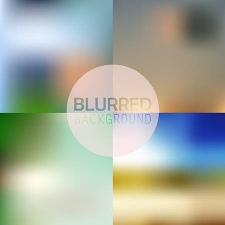 soft blurred abstract background set collection in subtle flower colors
