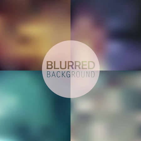 subtle: soft blurred abstract background set collection in subtle flower colors