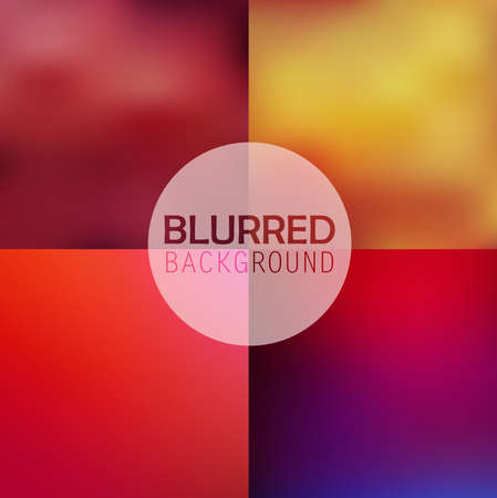 subtle: Set of  soft blurred abstract background set collection in subtle flower colors