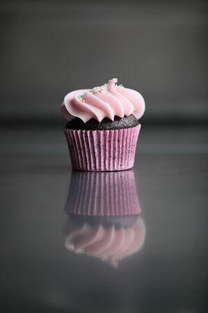 sweet treats: A fun and sweet cupcake Stock Photo