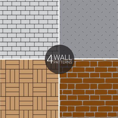 4 Wall Patterns