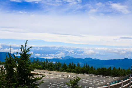 Photo on Mountain Fuji, Japan photo