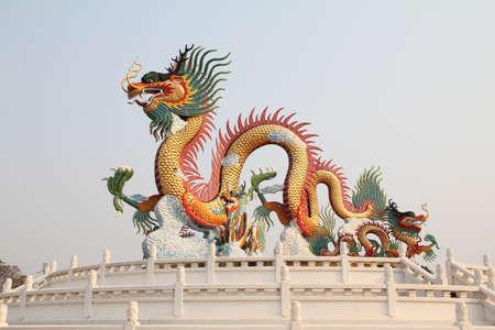 dragon statue Stock Photo - 9373080