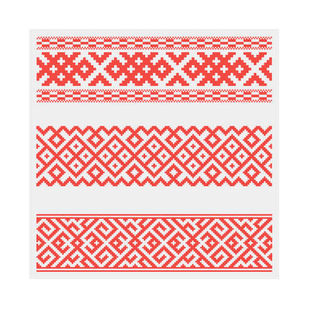 Vector patterns ornament Imagens - 100232600
