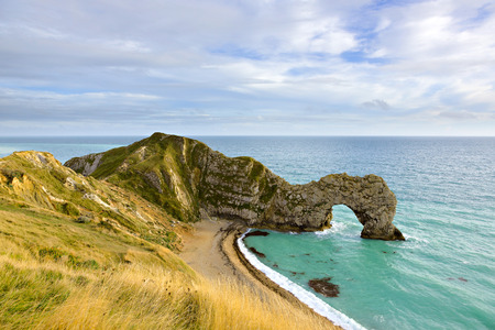durdle door: Durdle Door in Dorset on the south coast of England, UK  This part of England is known as the Jurassic Coast