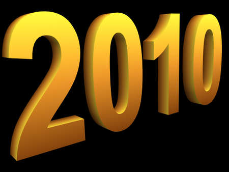 thousand: New year two thousand and ten